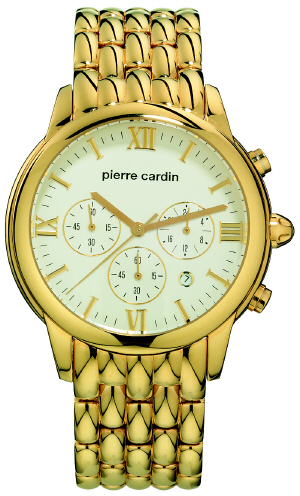 Pierre Cardin Damenuhr Gold