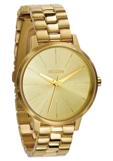 Nixon Damenuhr Gold