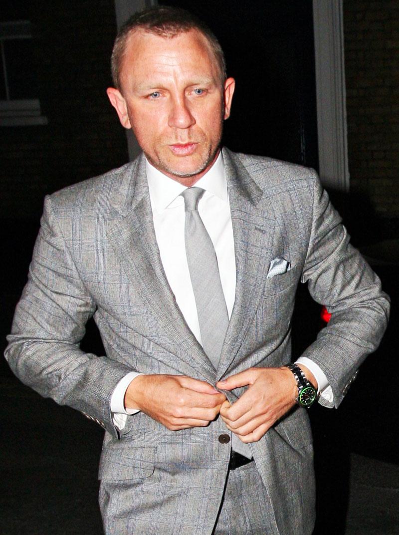 Rolex Milgauss, Daniel Craig