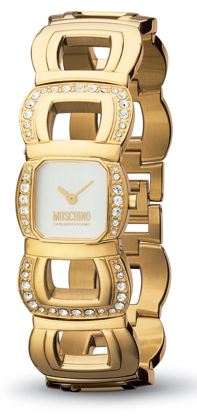 Moschino Uhr Gold Damen