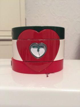 Moschino Uhr Herz
