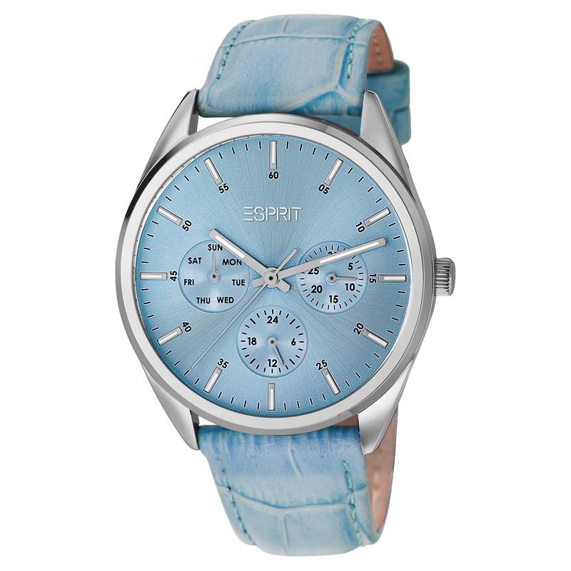 Esprit Armbanduhr mit Lederarmband